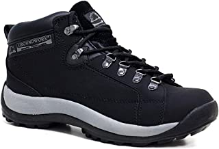 Groundwork Mens Leather Uppers Smart/Casual Lace up Steel Toe Cap Safety Boots