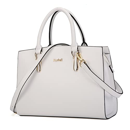d4d6f12a42 Kadell Elegant Women Handbags Leather Vintage Tote Satchel Shoulder  Crossbody Bags Top Handle Purse