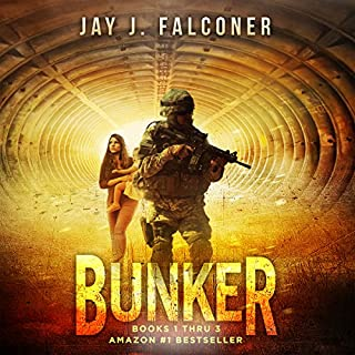 Bunker: Boxed Set (Books 1-3)                   By:                                                                                                                                 Jay J. Falconer                               Narrated by:                                                                                                                                 Gary Tiedemann                      Length: 14 hrs and 14 mins     2 ratings     Overall 4.5