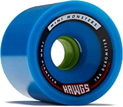Hawgs Mini Monsters Longboard Wheels - 70mm - 78a - Blue
