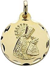 18k gouden medaille Virgin Desamparados 18mm. unisex