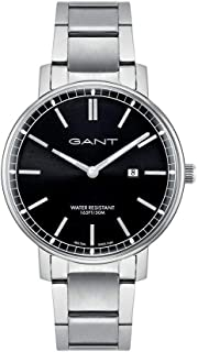 Gant Nashville Men Analogue Watch With Black Dial And Silver Stainless Steel Bracelet - GT006026