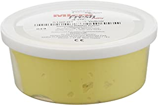 Sammons Preston Micro-Fresh Putty, Antibacterial, Antifungal, and Antimicrobial Therapy Putty for Hands and Feet Exercises, Color Coded Non-Toxic Clay, Soft, Yellow, 4 Ounces