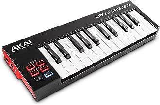Akai Professional LPK25 Wireless | 25 Mini-Key Bluetooth MIDI Keyboard for iOS, PC, Mac with Sustain Pedal Input