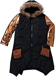 Dreamyth Kid Baby Girl Autumn Winter Faux Fur Waistcoat Thick Coat Warm Outwear Clothes Stylish,Pink