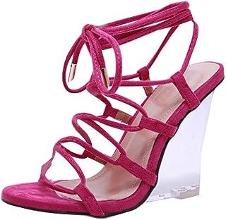 GNYD Sandalias Mujer Verano 2019 Plataforma Playa Romanas Casual,Fashion Casual Large Size Wedges Mixed Colors