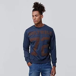 Smiley World Sweatshirts For Men, Blue M