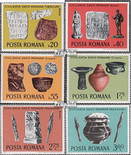 Prophila Collection Rumänien 3358-3363 (kompl.Ausg.) postfrisch 1976 Archäologische Funde (Briefmarken für Sammler)