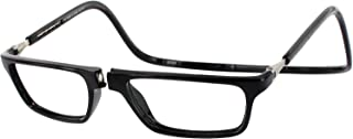 Clic Magnetic Front Connection Reading Glasses Executive in Black +2.00