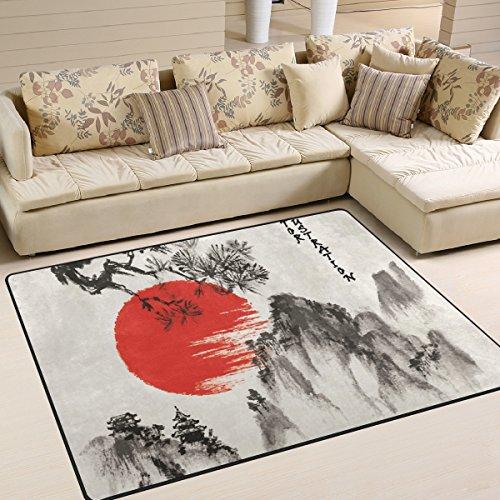 Wohnzimmer Teppiche Japanische Möbel Teppich Weich Schlafzimmer Teppich für Kinder Play Home Decor Boden Teppich und Teppiche 63 x 48 Inch