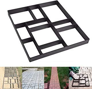 """Skelang Rectangular Pavement Mold, Reusable Path Maker Mold, Concrete Cement Mould 17.7""""×15.7""""×1.57"""", Stepping Stone Mould for DIY Garden Concrete Path, Patio Lawn Walkway, Yard Floor Paving"""