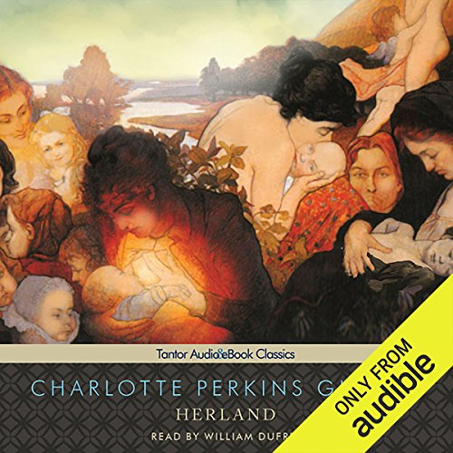 Herland audiobook cover art