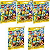 LEGO The Simpsons 5er Set 71009 Minifiguras Serie 2' Überraschungstüten
