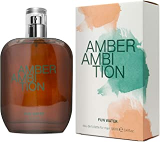 Fun Water Amber Ambition - Fragancia para hombre (100 ml)