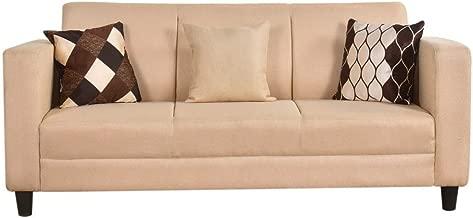 Furny Calista 3 Seater Sofa (Beige)