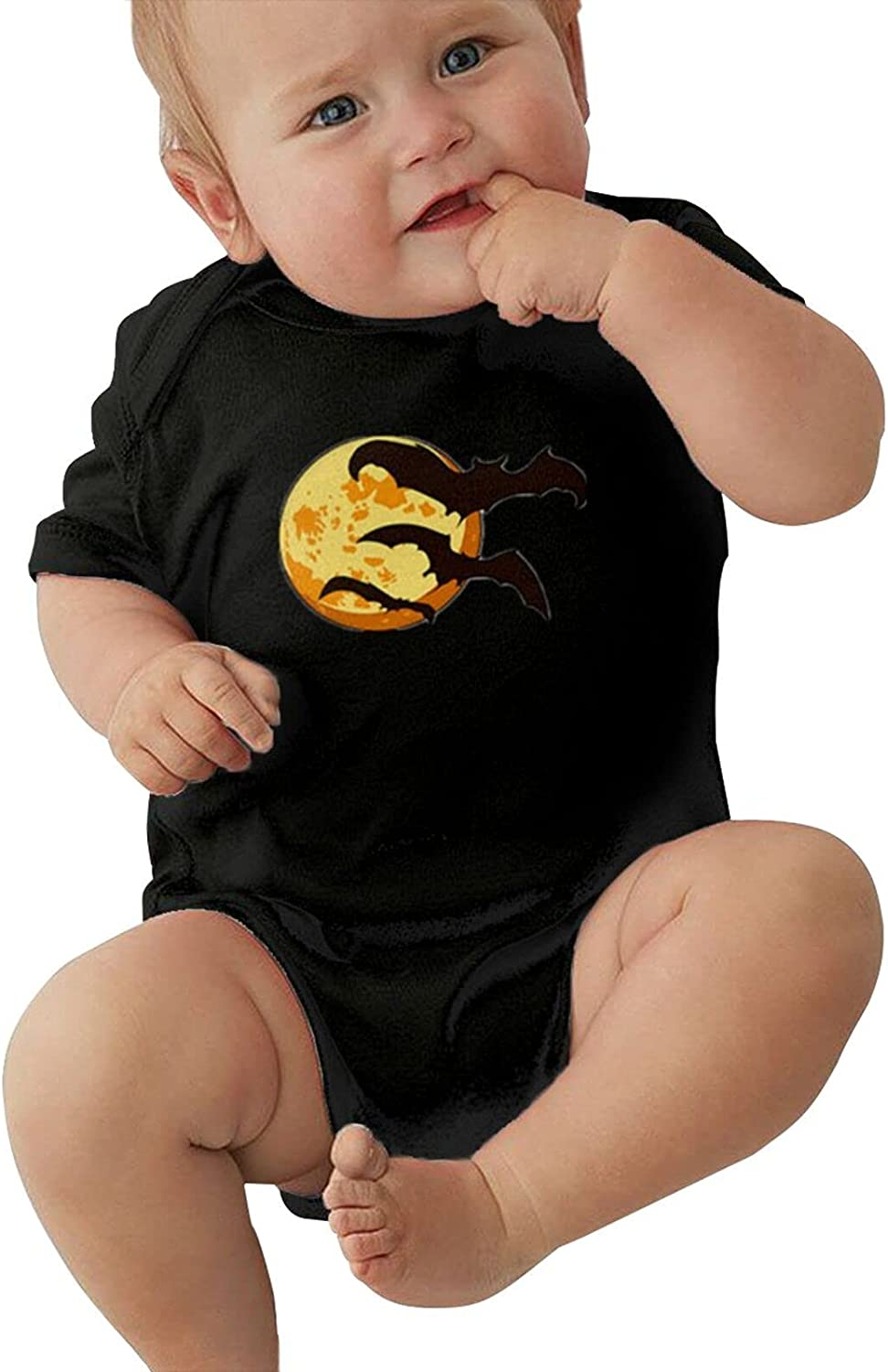 Halloween Bat Sale Special Price Sales Moon Unisex Baby Short Stretchy Sleeve Cool Tights