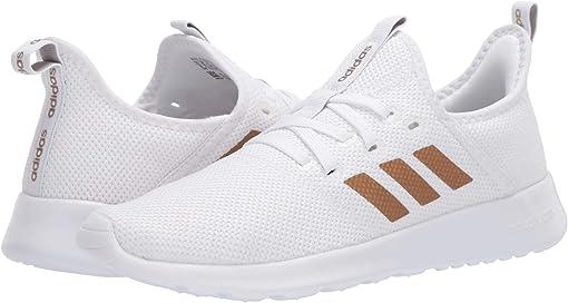 Footwear White/Tactile Gold Metallic/Metal Grey