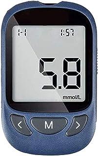 Jetta King Medidor de ácido úrico, Viene con 50 Tiras de Prueba sin código, 50 lancetas, Dispositivo de lanceta vitales en mmol/l