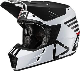 Leatt GPX 3.5 V19.2 Adult Off-Road Motorcycle Helmet - White/Large