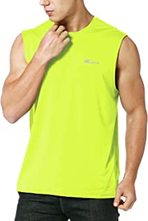 Men's Performance Quick-Dry Sleeveless Shirt Workout Muscle Bodybuilding Tank Top