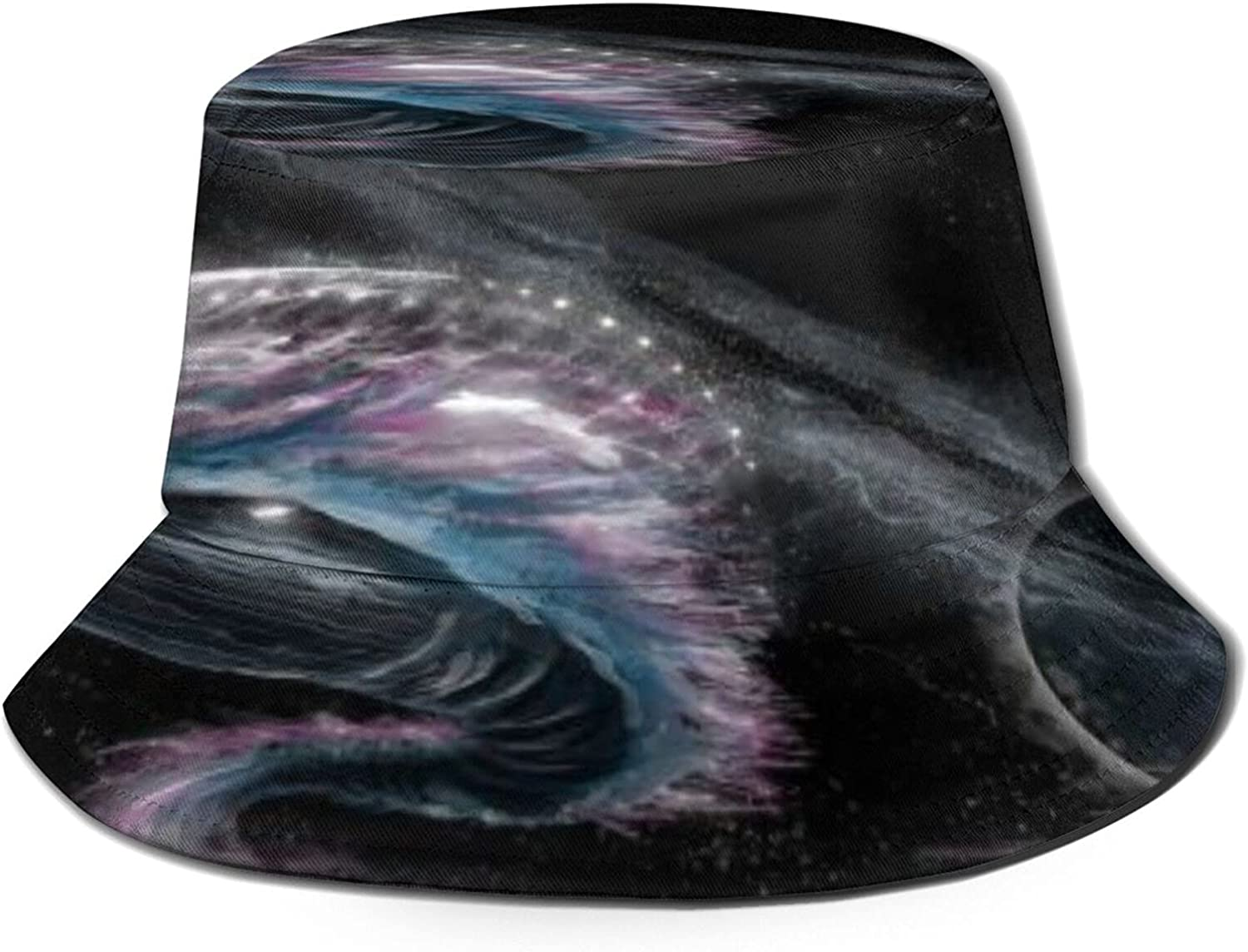 Whale Swimming About Universe Bucket Summer Sun Unisex P Hat OFFicial security store