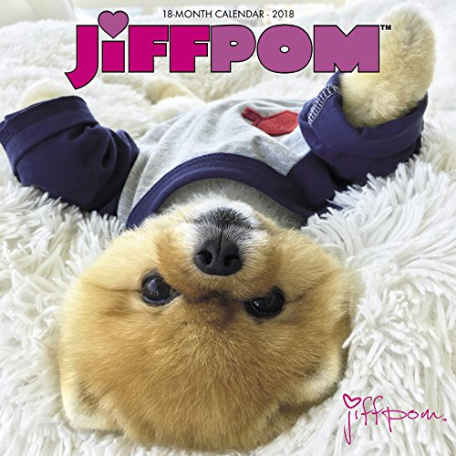 Jiffpom 2018 Wall Calendar (Dog Breed Calendar)