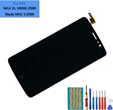 New Replacement LCD Compatible with ZTE MAX XL N9560 Z986 / Max Blue Z986DL 4G LTE-A/Blade Max 3 Z986U 6.0