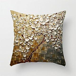 TAO 抱き枕カバー 3D感 花柄 クッションカバー ピローケース 抱き枕カバー 柔らかい ギフト 室内 ホーム ソファ 車 デコ 立体のき 手作り 洗える ソファカバー 枕カバー