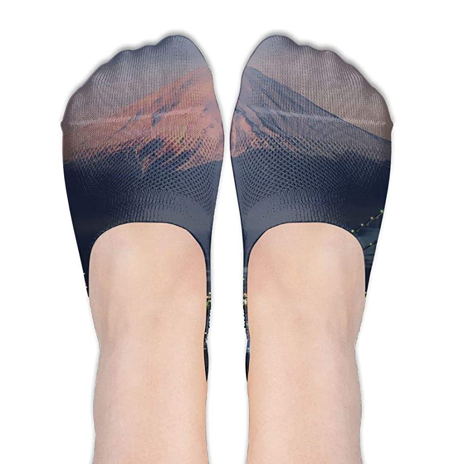 Cute Womens Non Slip Loafers Ankle Short Low Cut No Show Thin Socks Yoga Train Hiking Cycling Running Sports Soccer