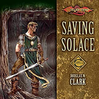 Saving Solace audiobook cover art