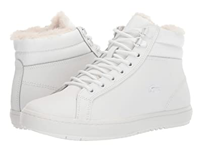 Lacoste Straightset Thermo 419 1 (Off-White/Off-White) Women