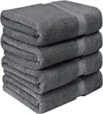 600 GSM Premium Bath Towels Set - Cotton Towels for Hotel and Spa