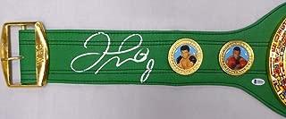 Floyd Mayweather Jr. Autographed Green WBC Full Size Belt Beckett BAS