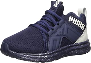 PUMA Unisex Enzo Tech Sneaker, Peacoat-Glacier Gray