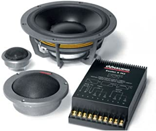 "Dynaudio system 362 8"",3"",& 1.1"" three way 200 watts rms & x over"