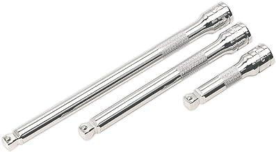 SEALEY Wobble/rigid extension bar set 3 stuks 3/8 inch sq drive