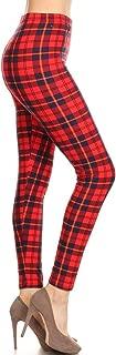 Leggings Depot Ultra Soft Women's Printed Fashion Leggings BAT11