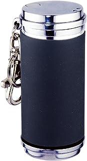 ペンギンライター 携帯灰皿 アッシュシリンダー シリコン巻き スライド ブラック