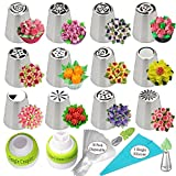 K&S Artisan Russian Piping Tips Set 127 pcs Cake Decoration tips For...