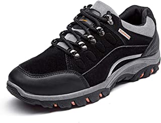 AmoonyFashion Womens Zipper Pointed-Toe High-Heels Pu Low-Top Boots BUSXT018418