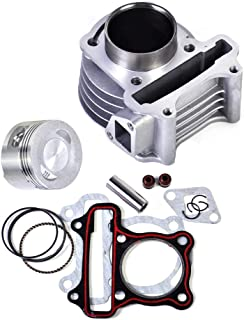47mm Big Bore Cylinder Piston Rings Gasket Kit for GY6 49cc to 80cc Scooter Moped ATV Go Kart 139QMB 139QMA Engine