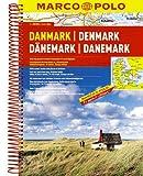 Denmark Marco Polo Road Atlas: 1:200 000
