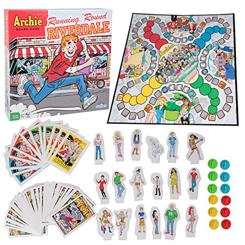 The Archie Comics Board Game - Running 'Round Riverdale -...