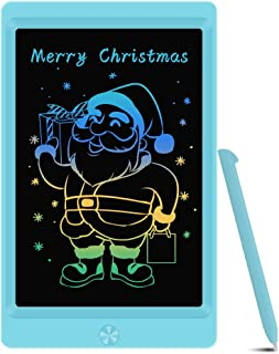 LCD Writing Tablet Drawing Board, Colorful Electronic Drawing Tablet Kids Tablets Doodle Board Writing Pad for Kids and Ad...