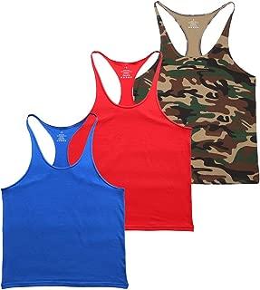 Blank Bodybuilding Stringer Tank Tops Men Cotton