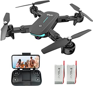 WiFi FPV Drone with 1080P HD Camera, 40 Mins Flight Time,Foldable Drone for Beginners,Altitude...