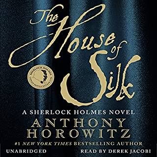 The House of Silk audiobook cover art