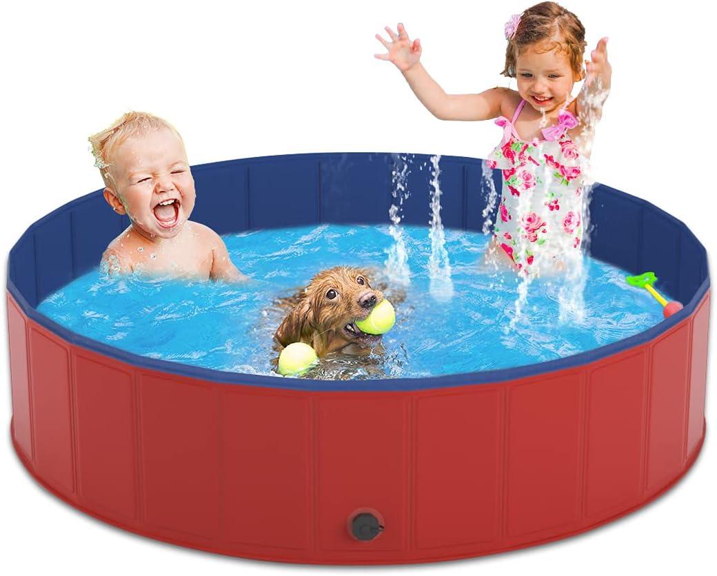 Pantula Dog Pool PVC Hard Plastic Foldable Swimming Pet Sale Be super welcome special price Ki Pools