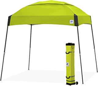 E-Z UP Dome Instant Shelter Canopy, 10 by 10', Limeade (Renewed)