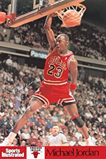 Sports Illustrated Chicago Bulls - Michael Jordan Poster - 24 Inches X 36 Inches